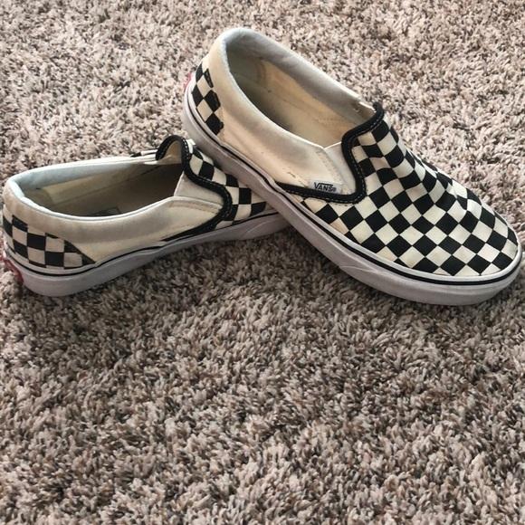 Vans Shoes | Checkered Size 75 | Poshmark